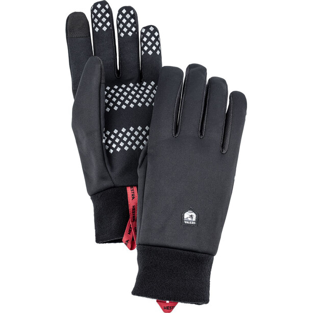 Hestra Windshield Liner Gloves svart