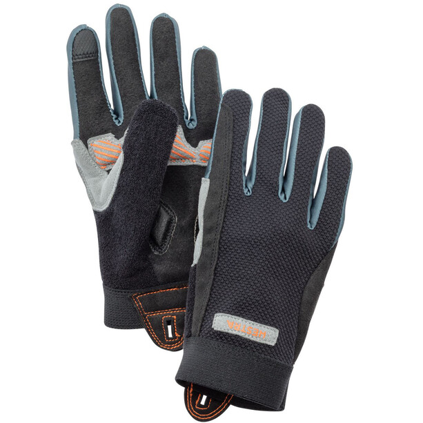 Hestra Bike Guard Gloves Jr Long Barn svart
