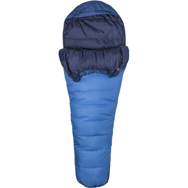 Marmot Trestles 15 Schlafsack Long cobalt blue/blue night