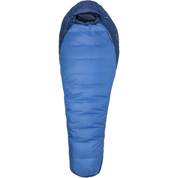 Marmot Trestles 15 Schlafsack Long X Wide cobalt blue/blue night