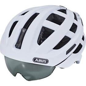 abus in vizz ascent casco de bicicleta blanco. Black Bedroom Furniture Sets. Home Design Ideas