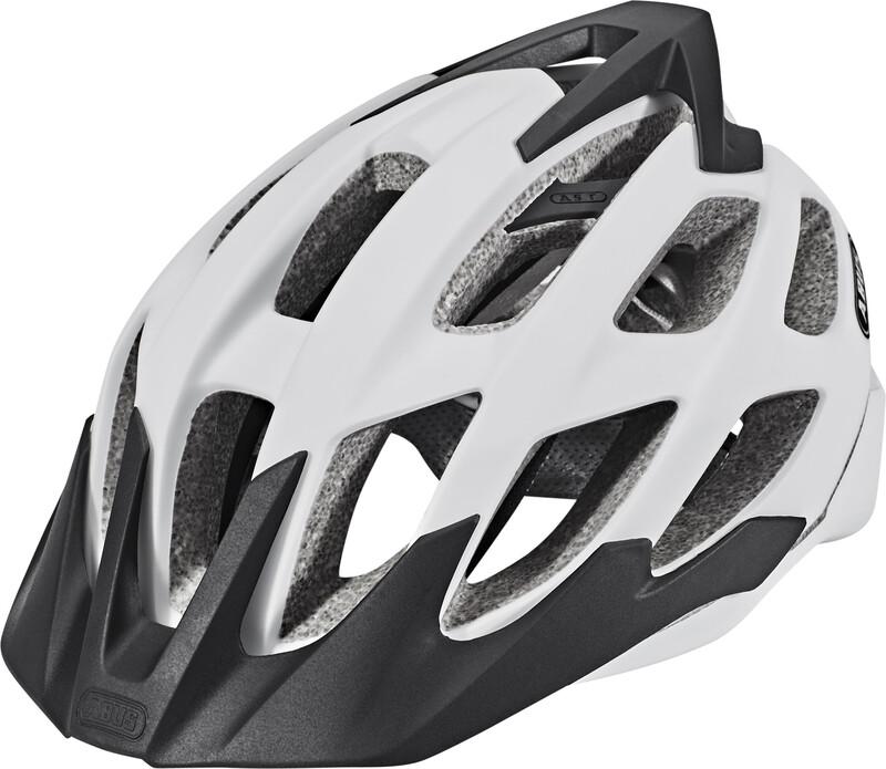 ABUS Hill Bill Helmet polar matt L | 57-61cm 2017 Fahrradhelme