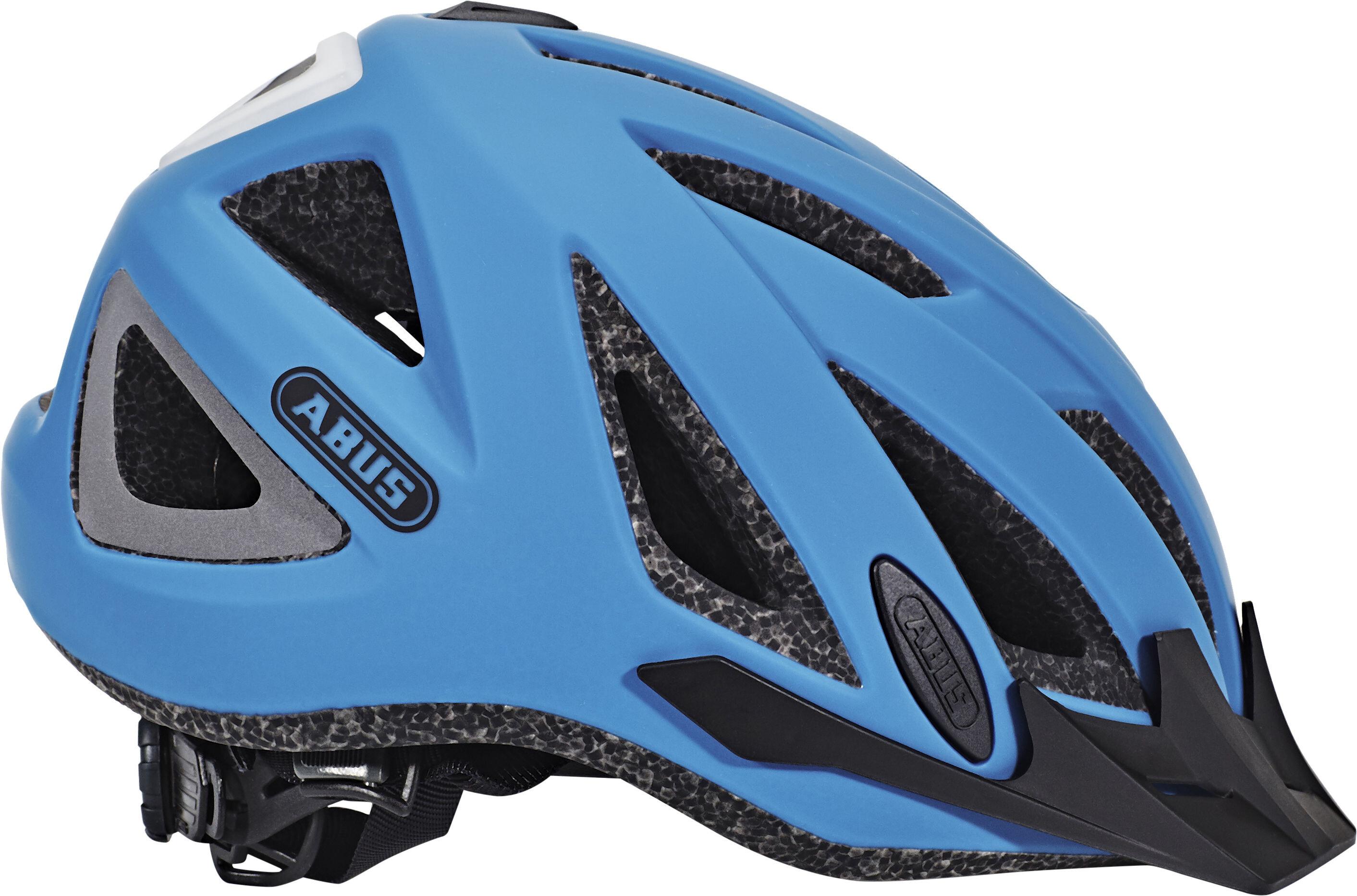 abus urban i 2 0 casco per bici blu su. Black Bedroom Furniture Sets. Home Design Ideas