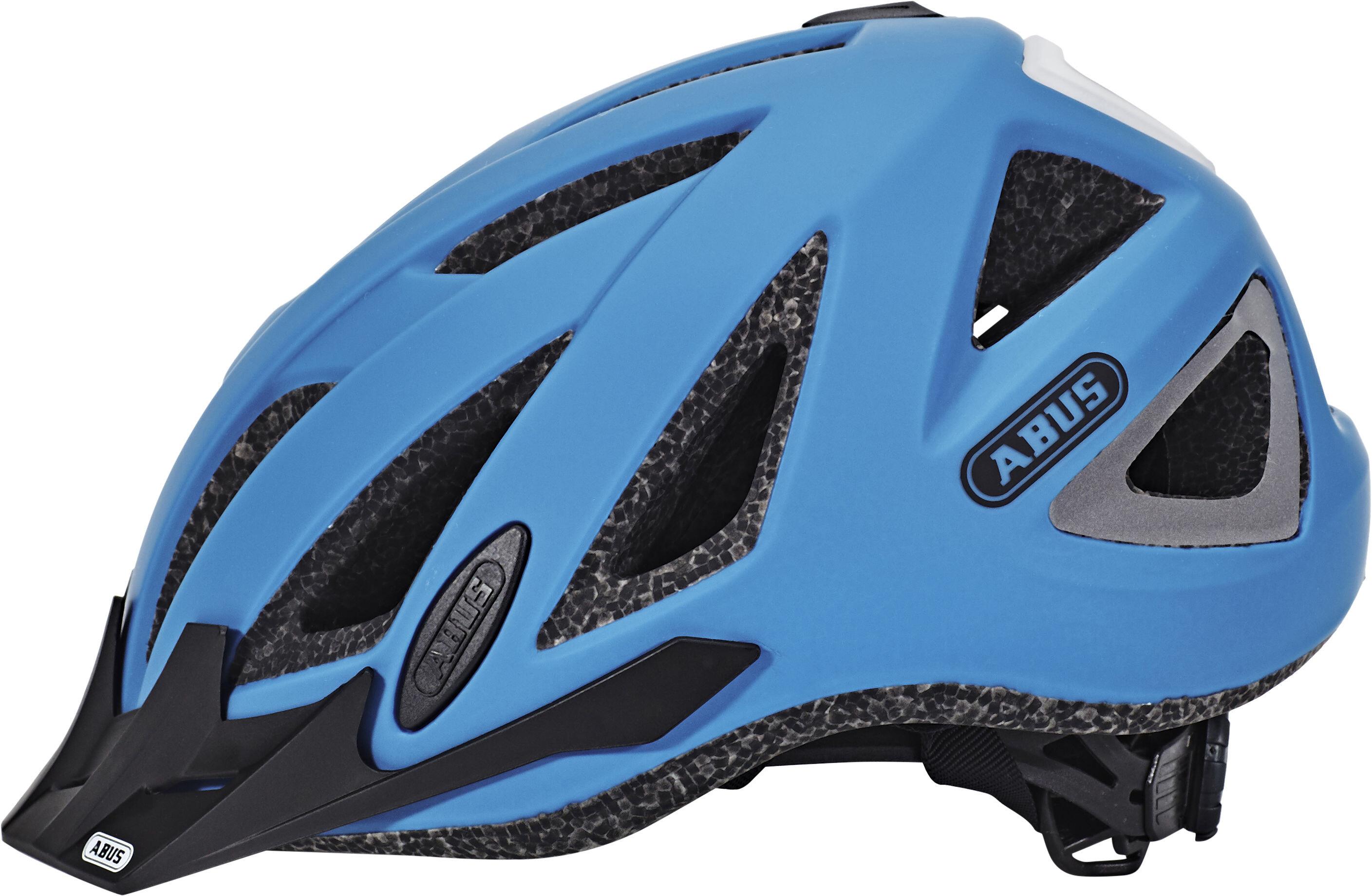 abus urban i 2 0 casco de bicicleta azul. Black Bedroom Furniture Sets. Home Design Ideas