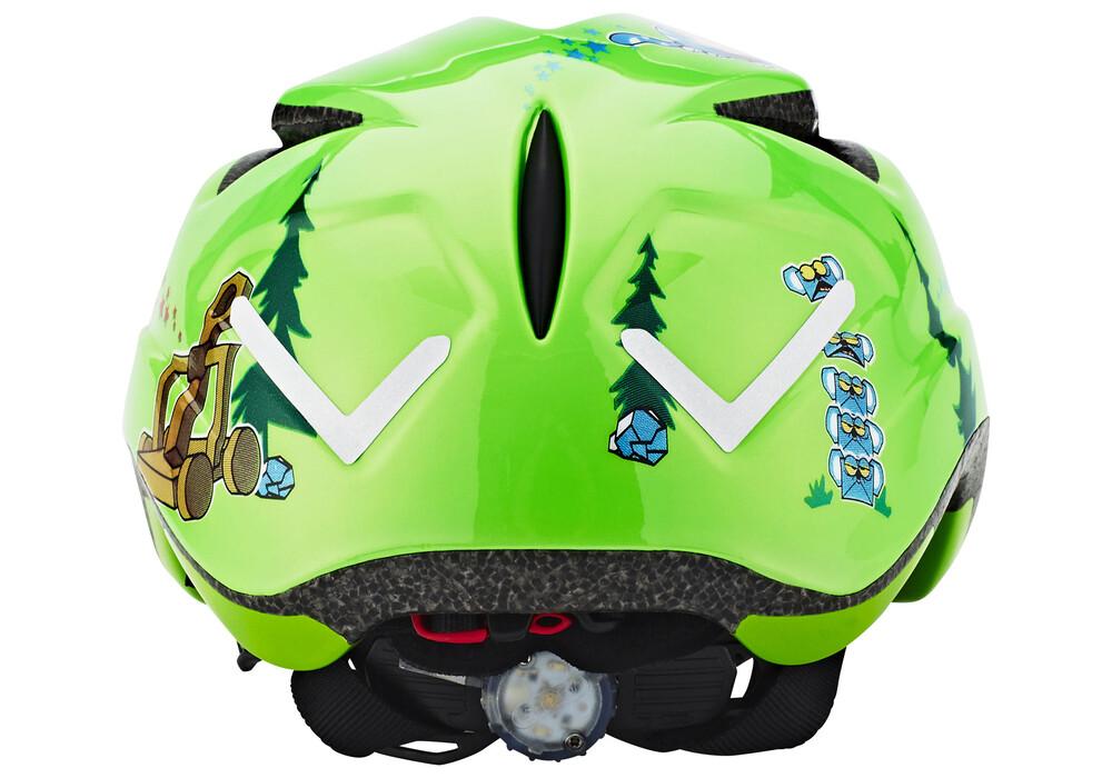 abus anuky helm kinderen groen i eenvoudig online bij bikester. Black Bedroom Furniture Sets. Home Design Ideas
