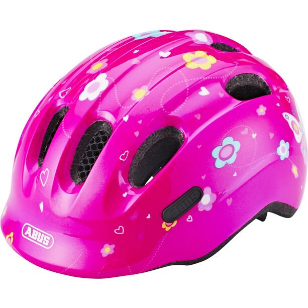 ABUS Smiley 2.0 Helm Kinder pink bttrfly