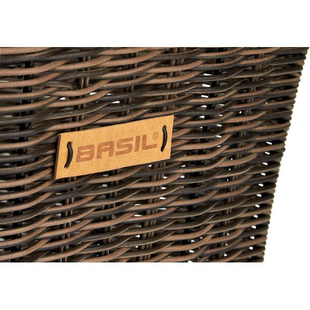 Basil Cento Rattan Look Multi System Hinterradkorb braun