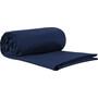 Sea to Summit Premium Cotton Travel Liner Traveller mit Kopfkissen-Einschubfach blau