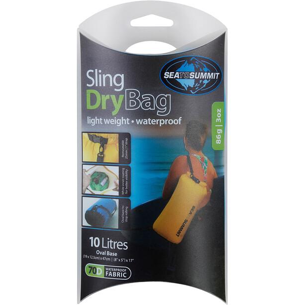 Sea to Summit Lightweight Sling Dry Bag 10l yellow