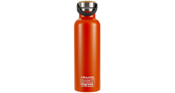 360 degrees vacuum insulated drink bottle 750ml orange. Black Bedroom Furniture Sets. Home Design Ideas