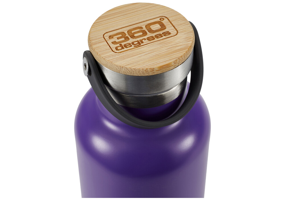 360 degrees vacuum insulated drink bottle 750ml purple. Black Bedroom Furniture Sets. Home Design Ideas