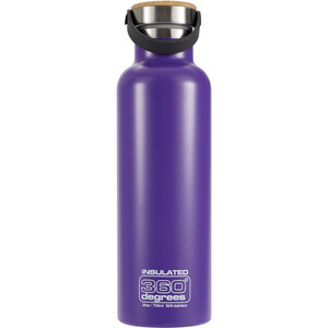 360° degrees Vacuum Insulated Trinkflasche 750ml purple purple