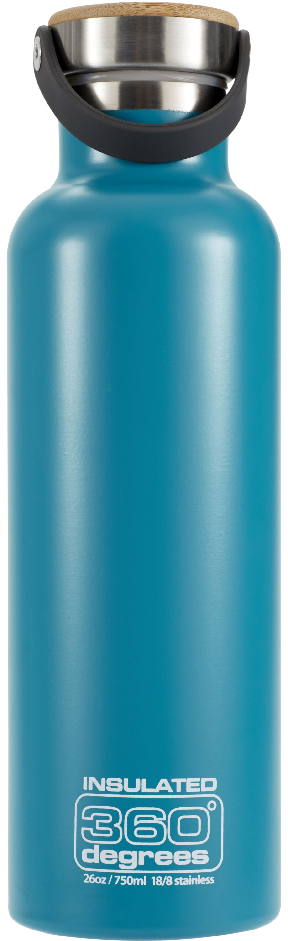 360 degrees vacuum insulated drink bottle 750ml teal. Black Bedroom Furniture Sets. Home Design Ideas
