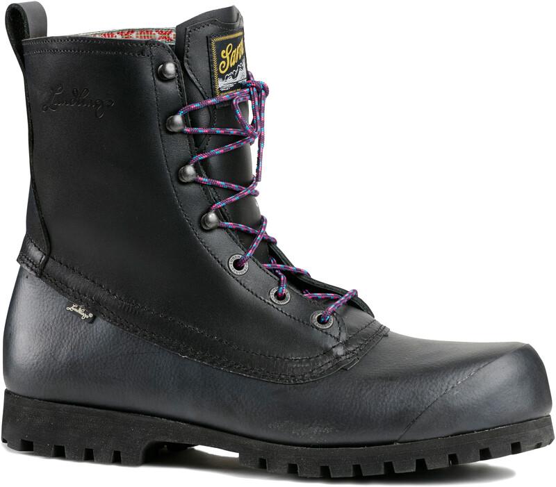 Lundhags Unisex X Sarva Mid Boots Black 38 2018 Fjellstøvler