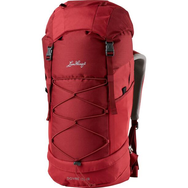 Lundhags Dovre 30 JR Backpack Barn dark red