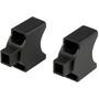 KlickFix Distanzset für Lenker E-Adapter 25mm silber/schwarz