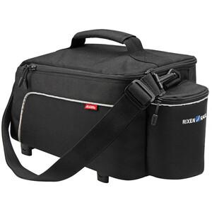 KlickFix Rackpack Light Gepäckträgertasche für Racktime schwarz schwarz