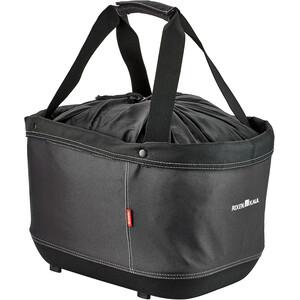 KlickFix Shopper Alingo GT Einkaufskorb für Racktime schwarz schwarz