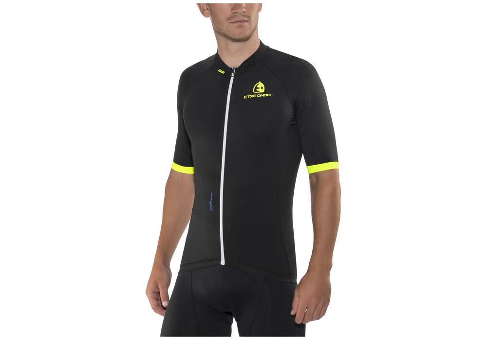 etxeondo maillot m c entzun bike jersey shortsleeve men black at. Black Bedroom Furniture Sets. Home Design Ideas