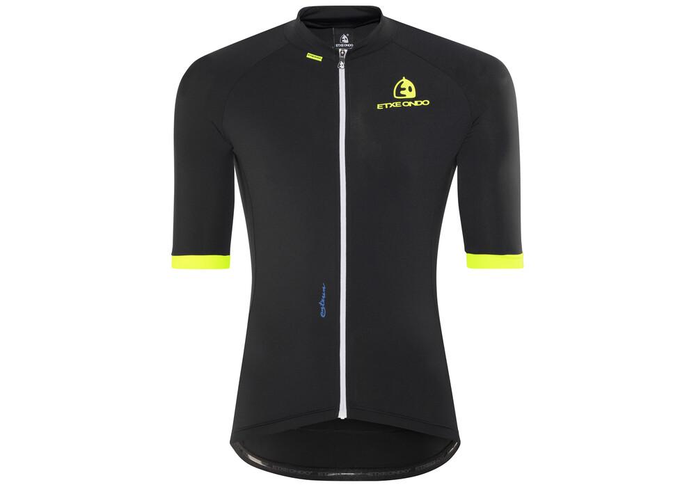 etxeondo maillot m c entzun short sleeve jersey men black at. Black Bedroom Furniture Sets. Home Design Ideas