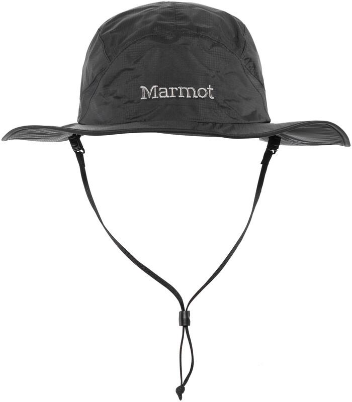 Marmot PreCip Safari Hat Black S-M 2018 Hüte, Gr. S-M