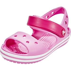 Crocs Crocband Sandalen Kinder candy pink/party pink candy pink/party pink