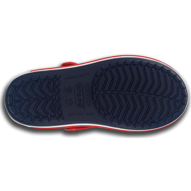 Crocs Crocband Sandalen Kinder navy/red