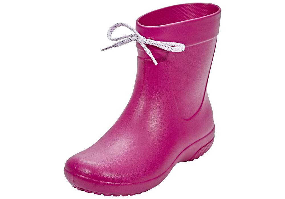 Crocs Freesail Shorty Gummistøvler Damer pink | Find outdoortøj, sko & udstyr på nettet | CAMPZ.dk