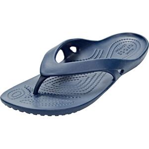 Crocs Kadee II Flache Sandalen Damen blau blau