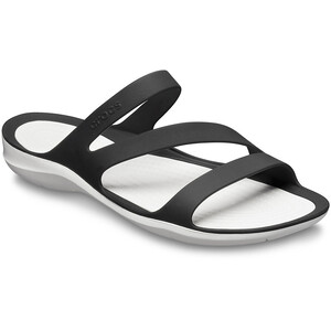 Crocs Swiftwater Sandaalit Naiset, black/white black/white