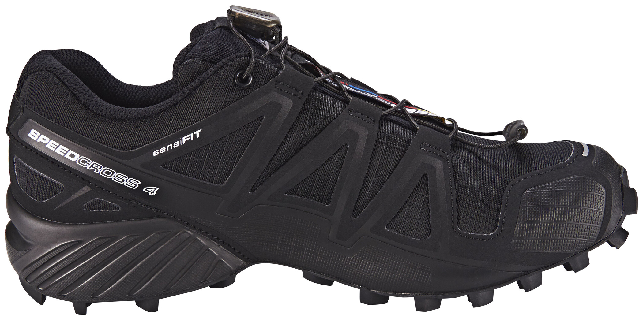 Salomon Speedcross 4 Shoes Dam blackblackblack metallic