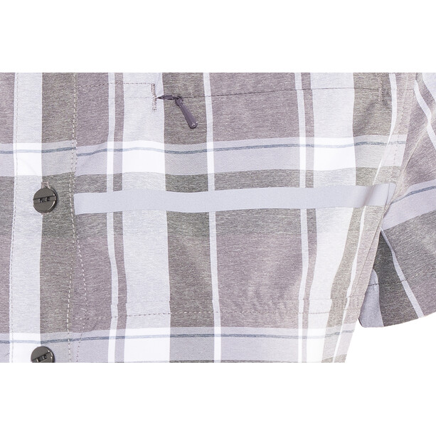 Shimano Transit Check Button Up Kurzarmhemd Damen shark