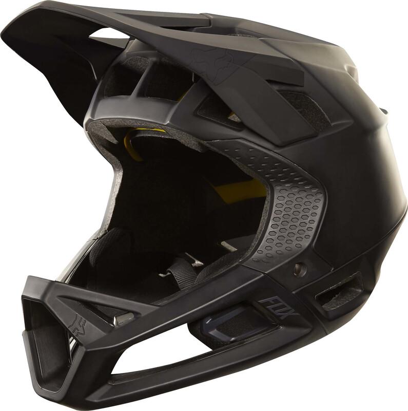 Fox Proframe Helmet Men matte black L 58-61cm 2018 Fahrradhelme