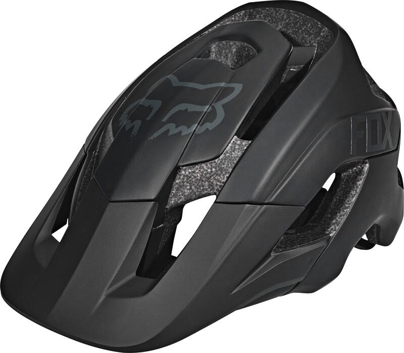 Fox Metah Solids Helmet matte black XL/2XL 59-64cm 2018 Fahrradhelme