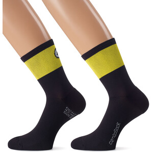 ASSOS CentoSocks_Evo8 schwarz/gelb schwarz/gelb