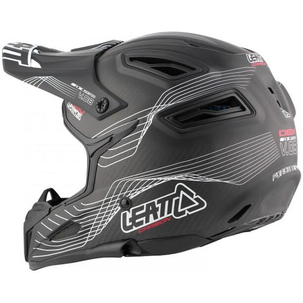 Leatt DBX 6.0 Carbon Helmet black/white