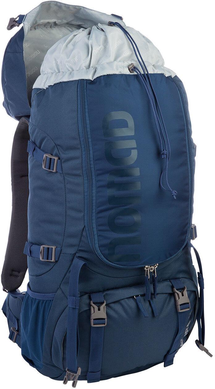 nomad batura 55 sac dos bleu sur. Black Bedroom Furniture Sets. Home Design Ideas