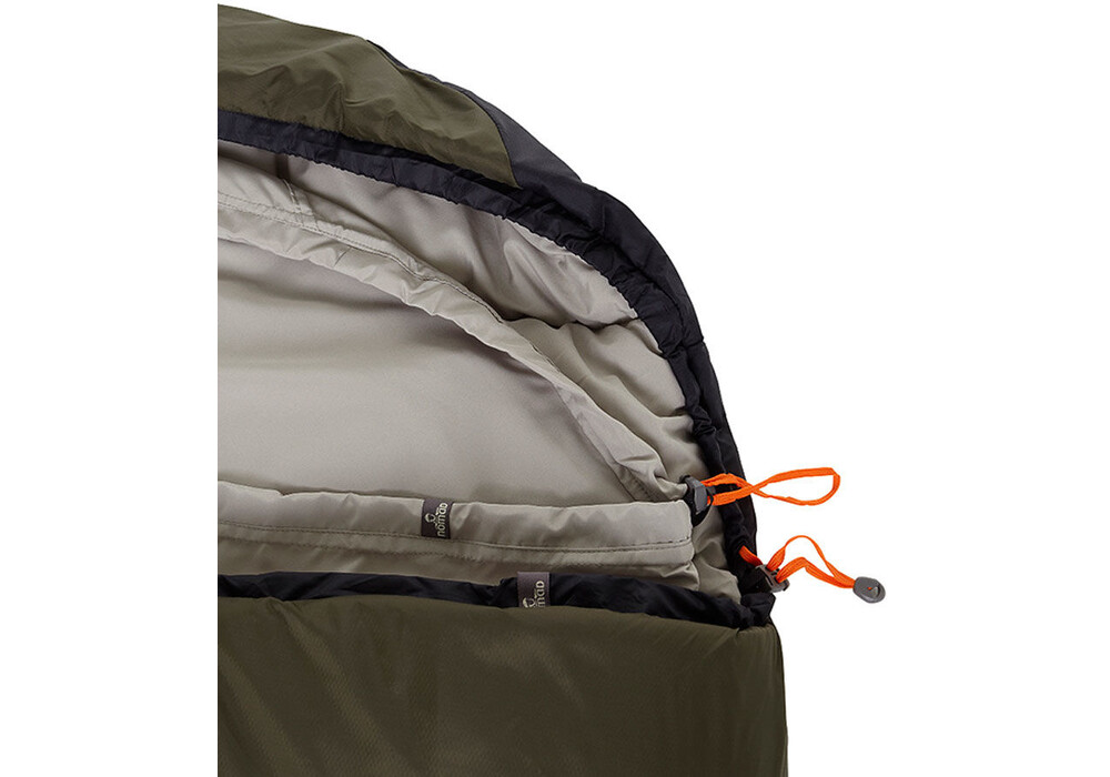 nomad tennant creek sac de couchage noir olive sur. Black Bedroom Furniture Sets. Home Design Ideas