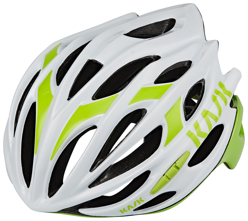 Kask Mojito16 Helm weiß/grün M | 52-58cm 2018 Fahrradhelme