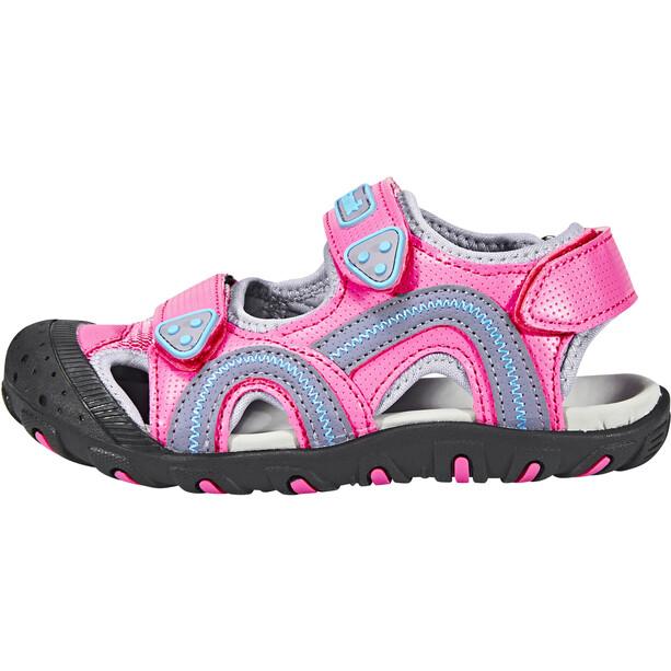 Kamik Seaturtle Sandaalit Lapset, vaaleanpunainen/sininen