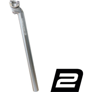 Humpert Patentsattelstütze Sattelstütze Alu 350 mm silber silber