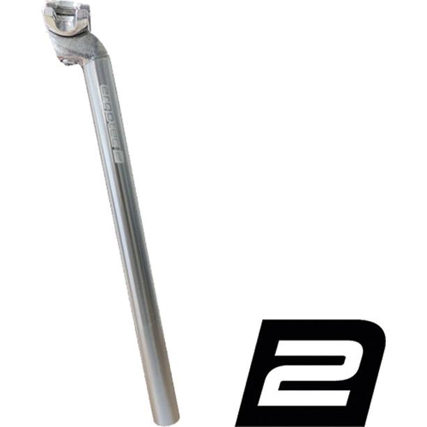 Humpert Patentsattelstütze Sattelstütze Alu 350 mm silber