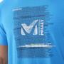 Millet Millet Be Bold TS Kurzarm Oberteil Herren electric blue