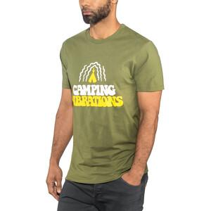 POLER Camping Vibrations T-Shirt Herren olive olive