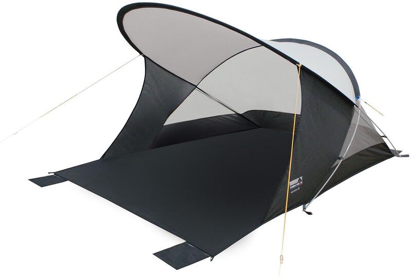 Aurinko 50 Zelt aluminium/dunkelgrau 2018 Windschutz & Strandmuscheln