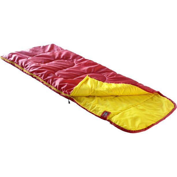 High Peak Kiowa Sac de couchage gauche Enfant, red/orange