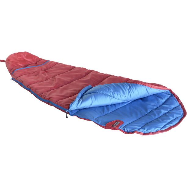 High Peak Tembo Vario Schlafsack links Kinder rot/blau