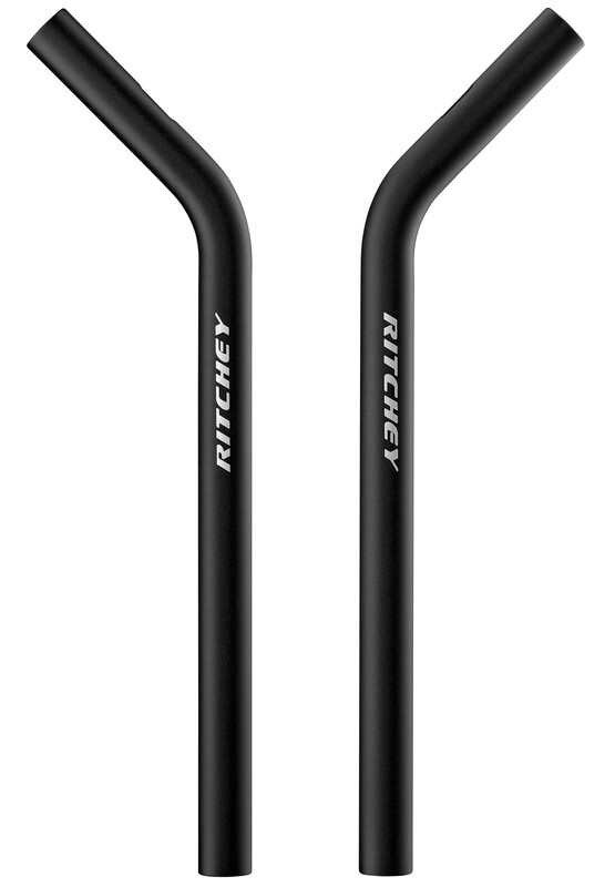 Aero Extensions L-Bend 350mm bb black 2018 Triathlon Lenker & Aufsätze