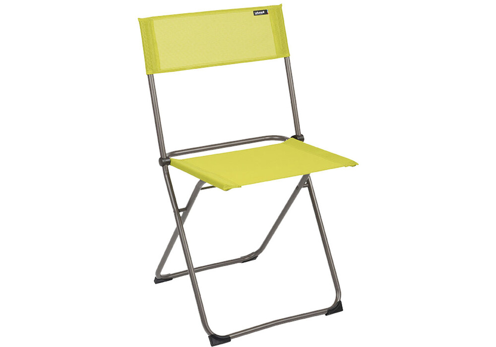 lafuma mobilier balcony si ge camping classic batyline jaune sur. Black Bedroom Furniture Sets. Home Design Ideas