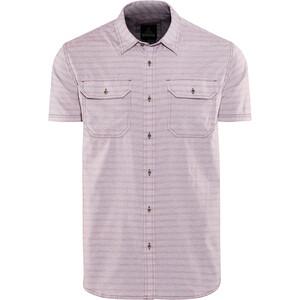 Prana Cayman Camisa Manga Corta Hombre, rosa rosa